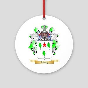 Irving 2 Ornament (Round)