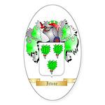 Irvine Sticker (Oval 50 pk)