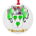 Irvin Round Ornament