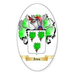 Irvin Sticker (Oval 10 pk)