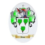 Irvin Ornament (Oval)
