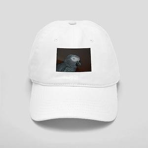African Grey Parrot Baseball Cap