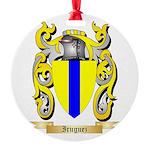 Iruguez Round Ornament