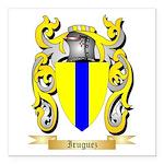 Iruguez Square Car Magnet 3