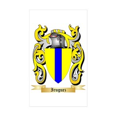 Iruguez Sticker (Rectangle 10 pk)