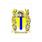 Iruguez Sticker (Rectangle 50 pk)