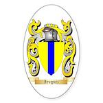 Iruguez Sticker (Oval)