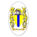 Iruguez Sticker (Oval 10 pk)