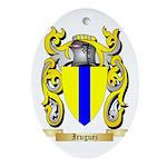Iruguez Ornament (Oval)