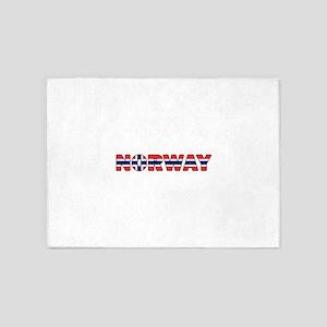 Norway 001 5'x7'Area Rug