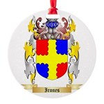 Irones Round Ornament