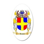 Irones 20x12 Oval Wall Decal