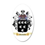 Irondelle 20x12 Oval Wall Decal