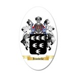 Irondelle 35x21 Oval Wall Decal