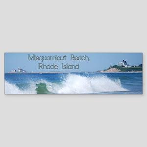 Breaking Ocean Wave Bumper Sticker
