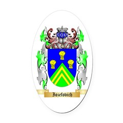 Iozefovich Oval Car Magnet