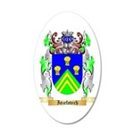 Iozefovich 20x12 Oval Wall Decal