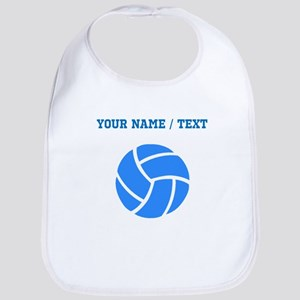 Custom Blue Volleyball Bib
