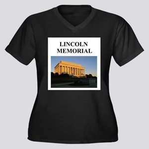 lincoln memorial washington gifts Women's Plus Siz