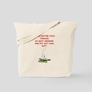 tobacco Tote Bag
