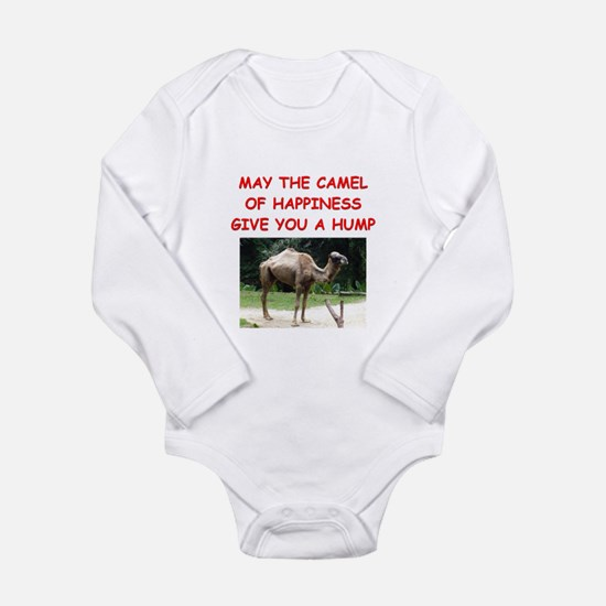 happiness Long Sleeve Infant Bodysuit