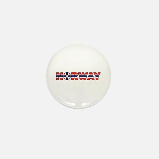 Norway 001 Mini Button