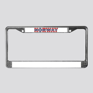 Norway 001 License Plate Frame