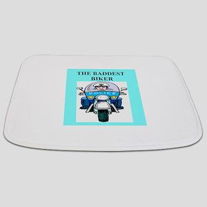 biker humor on gifts and t-sh Bathmat