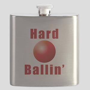 Hard Ballin' Flask