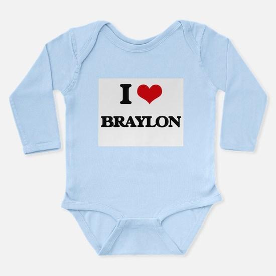 I Love Braylon Body Suit