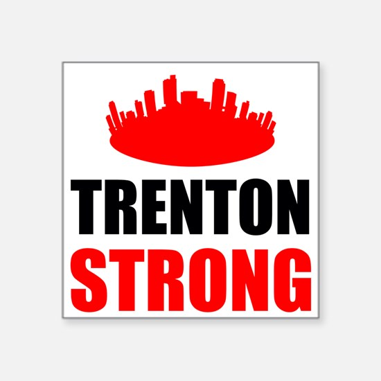 Trenton Strong Sticker