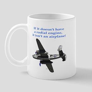 Radial B-25 Mug