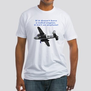 Radial B-25 Fitted T-Shirt