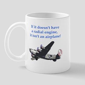 Radial B-24 Mug