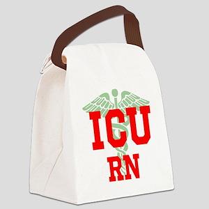 ICU RN Canvas Lunch Bag