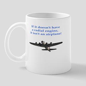Radial B-17 Mug