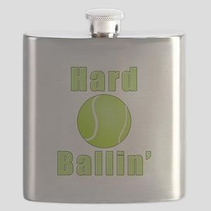 Hard Tennis Ballin' Flask