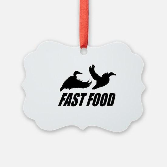 Fast food waterfowl Ornament