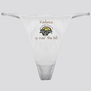 Kadence is over the hill Classic Thong