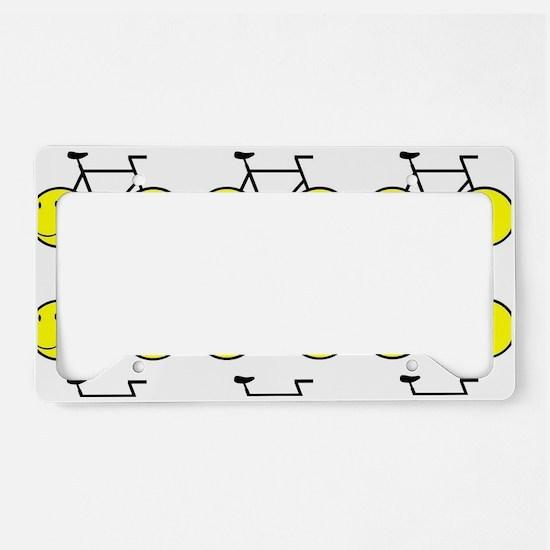 Happy Bikes License Plate Holder