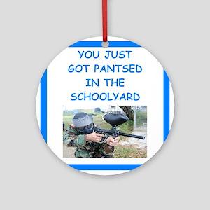 paintball joke Ornament (Round)