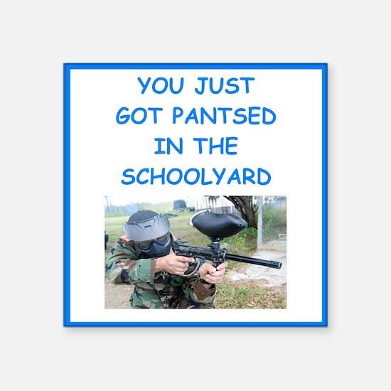 paintball joke Sticker