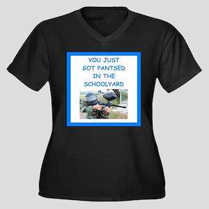 paintball joke Plus Size T-Shirt