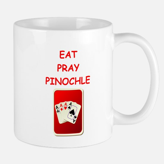 pinochle joke Mugs