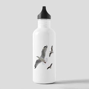 3 Gulls in Flight copy Stainless Water Bottle 1.0L