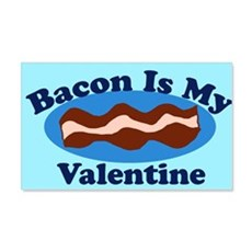 Bacon is my valentine Wall Decal