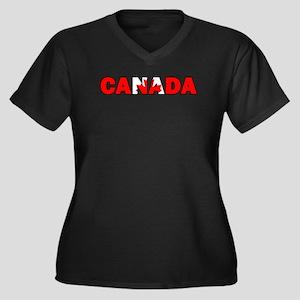 Canada 001 Plus Size T-Shirt