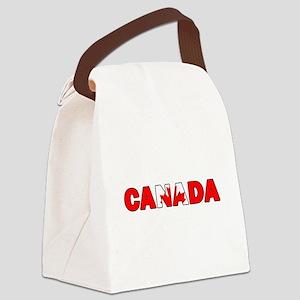 Canada 001 Canvas Lunch Bag
