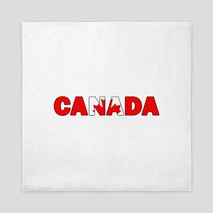 Canada 001 Queen Duvet