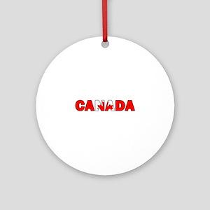 Canada 001 Ornament (Round)